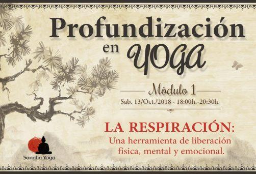 Módulo 1. La respiración: una herramienta de liberación física, mental y emocional a tu alcance
